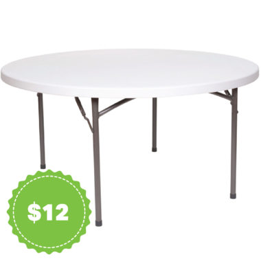 Round Tables Tables Products Budget Party Hire