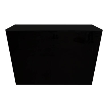 Black Acrylic Bar Black