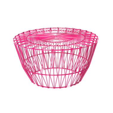 Arrow Coffee Table Hot Pink