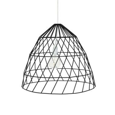 Arrow Light Fitting Small Black