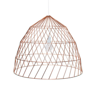 Arrow Light Fitting Large Copper