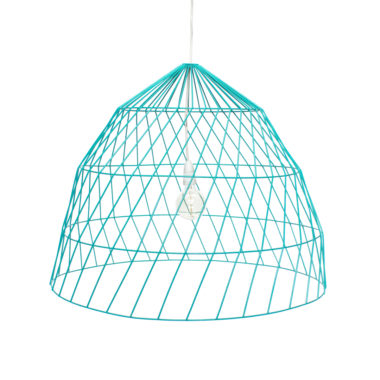 Arrow Light Fitting Large Duck Egg