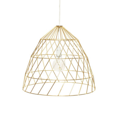 Arrow Light Fitting Small Gold