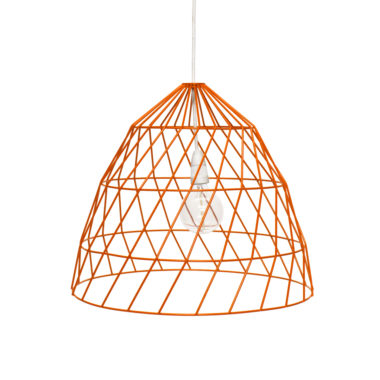 Arrow Light Fitting Small Orange