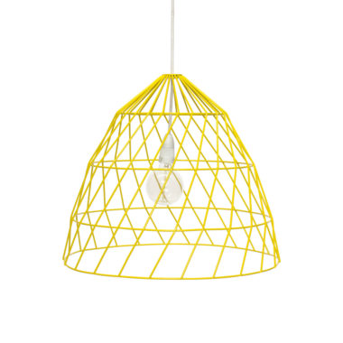 Arrow Light Fitting Small Yellow