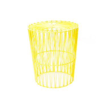 Arrow Side Table Yellow