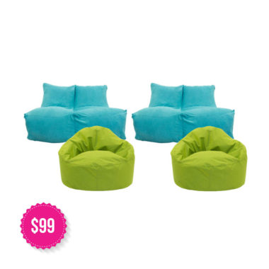 Bean Bag Package Various Colours