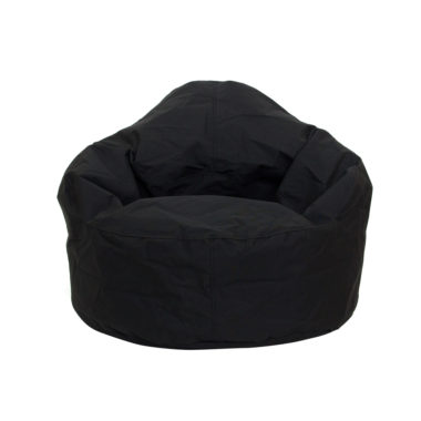 Bean Bag Single Seater Black