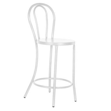 Bentwood Stool White