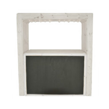 Festoon Bar Frame White
