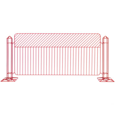 Linea Fence Red