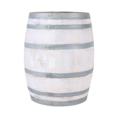 Wine Barrel White