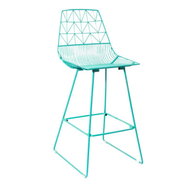 Arrow Bar Stool Duck Egg