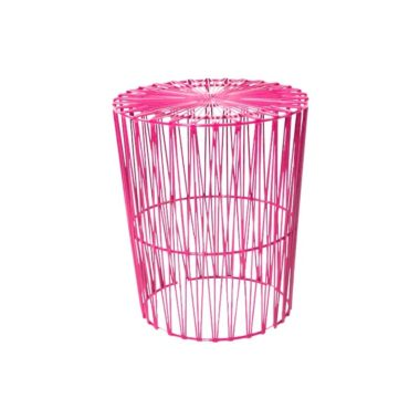 Arrow Side Table Hot Pink